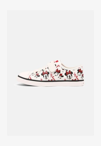 DISNEY MINNIE MOUSE JR CIAK GIRL GEOX - Trainers - Trainers - white/red