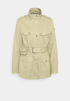 FIELD  - Trenchcoat - pale khaki