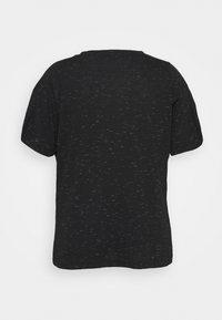 adidas Performance - WIN TEE - Print T-shirt - black melange - 1