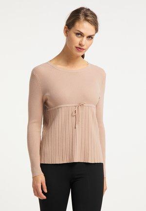 Sweater - nude