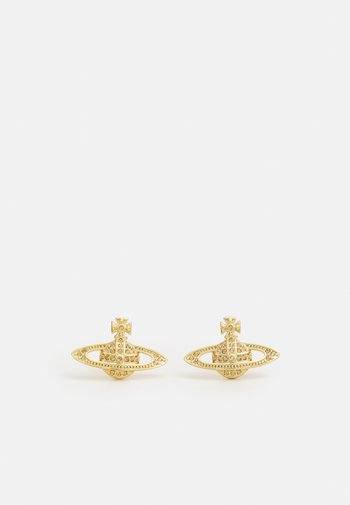 MINI BAS RELIEF EARRINGS - Earrings - gold-coloured