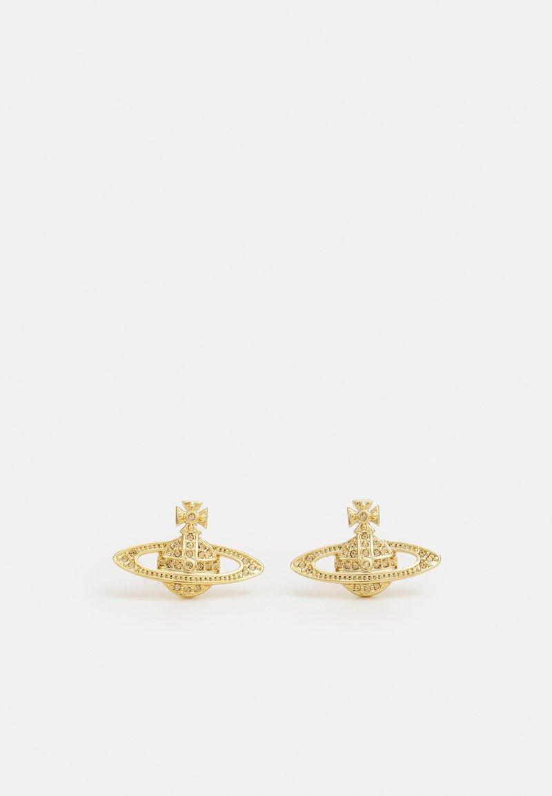 Vivienne Westwood - MINI BAS RELIEF EARRINGS - Earrings - gold-coloured