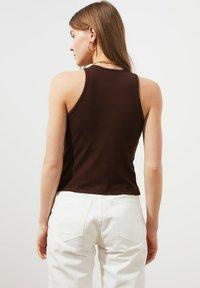 Trendyol - Top - brown - 1