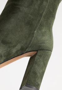 Bianca Di - Kozačky na vysokém podpatku - verde - 2