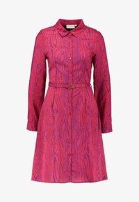 Fabienne Chapot - HAYLEY TIPSY DRESS - Blusenkleid - deep fuchsia/purple - 4