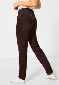 Cecil - Slim fit jeans - braun - 1