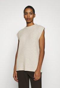 ALIGNE - ADELE - T-shirt con stampa - stone - 1