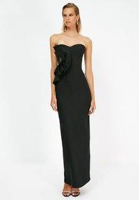 Trendyol - PARENT - Vestido de fiesta - black - 0