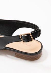 Clarks - LAINA - Slingback ballet pumps - black - 2