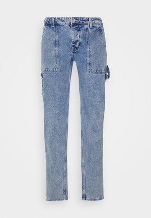 JJIMIKE JJUTILITY - Slim fit jeans - blue denim