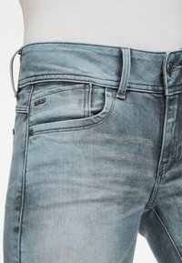 G-Star - LYNN MID SKINNY - Jeans Skinny - light blue - 2
