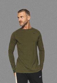 SQUATWOLF - LIMITLESS FULL SLEEVES TEE - Long sleeved top - khaki - 0