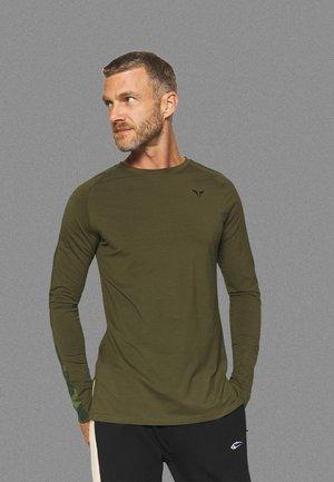 LIMITLESS FULL SLEEVES TEE - Long sleeved top - khaki