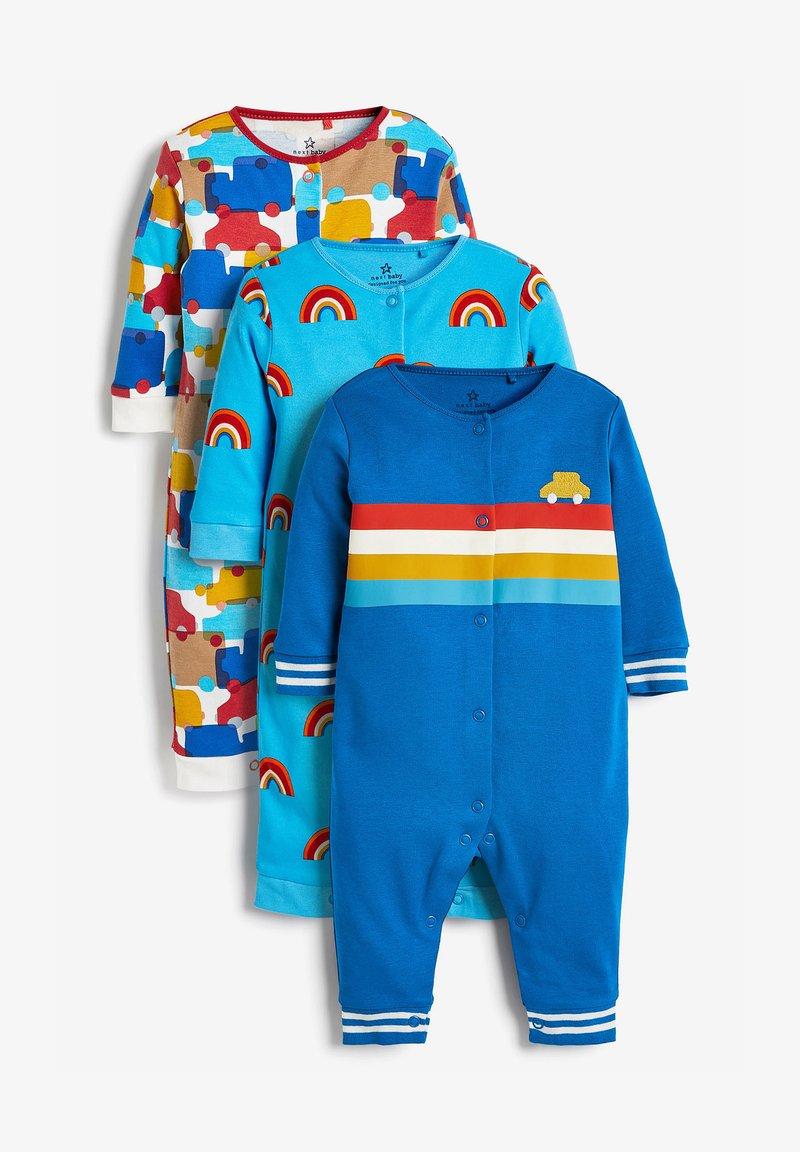 Next - 3 PACK  - Sleep suit - blue