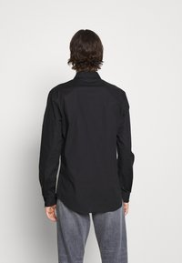 Versace Jeans Couture - POPELINE STRETCH - Shirt - nero - 4