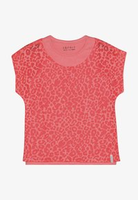 Esprit - T-shirt print - neon coral - 2