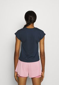 Nike Performance - T-shirt basic - obsidian/white - 2