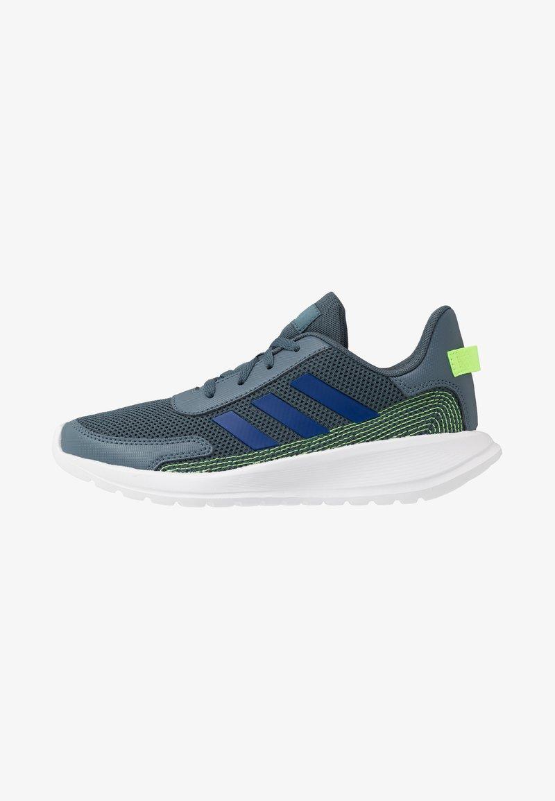 adidas Performance - TENSAUR RUN UNISEX - Laufschuh Neutral - legend blue/royal blue/signal green
