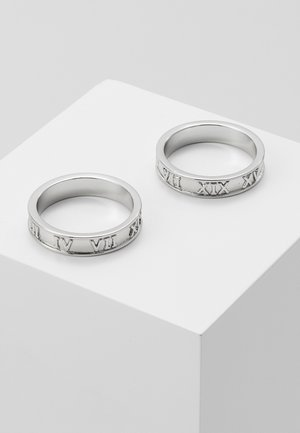2 PACK - Ring - silver-coloured