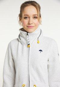 Schmuddelwedda - Zip-up sweatshirt - wollweiss melange - 3