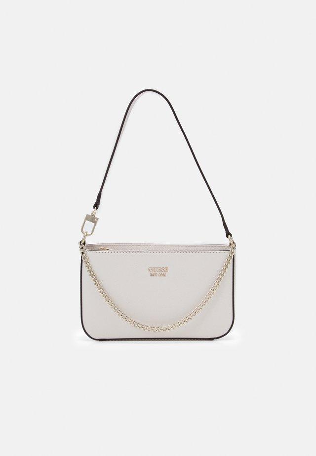 KATEY MINI TOP ZIP SHOULDER - Handbag - stone