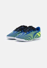 adidas Performance - NEMEZIZ .4 IN UNISEX - Indoor football boots - royal blue/solar yellow/footwear white - 1
