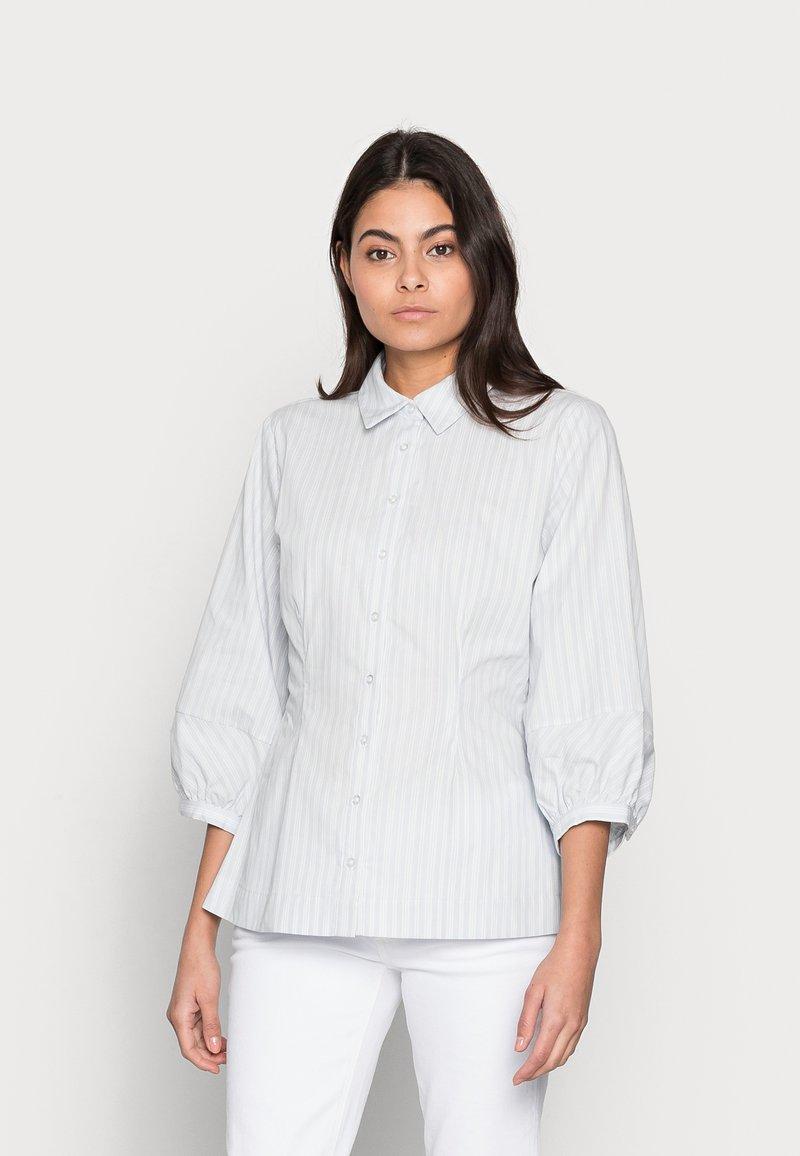 Modström - JASLEEN SHIRT - Button-down blouse - blue stripe