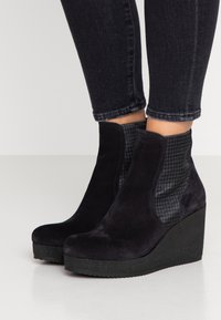 Homers - MICRO - High heeled ankle boots - sirena - 0