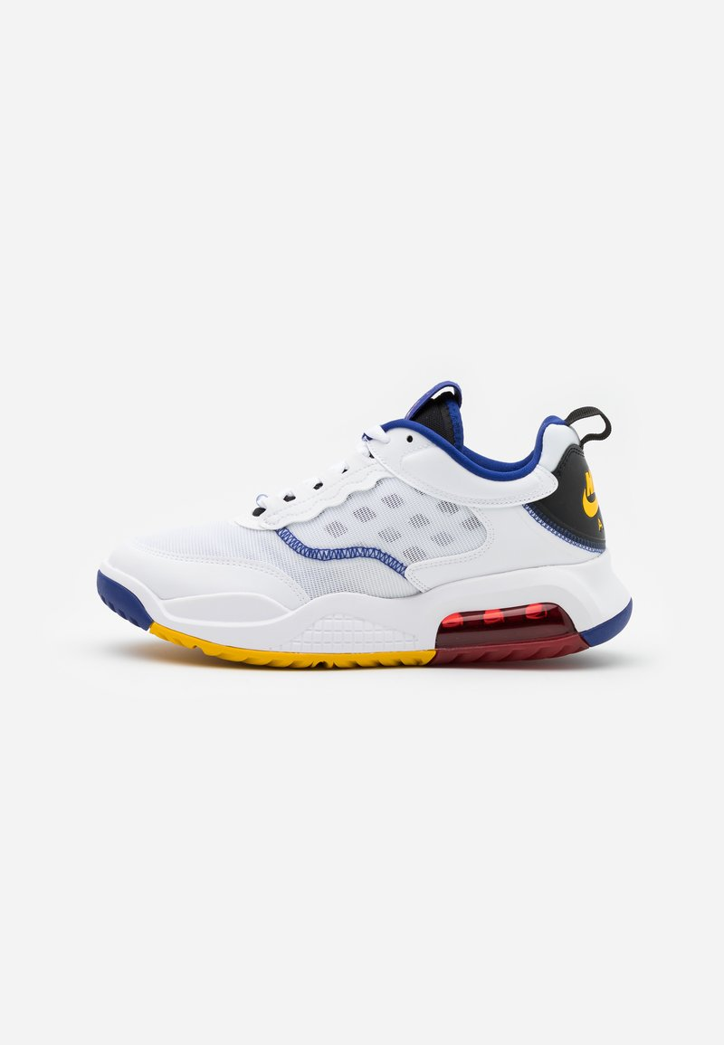 Jordan - MAX 200 - Matalavartiset tennarit - white/dark sulfur/black/gym red/game royal