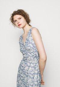 Polo Ralph Lauren - Maxi dress - blue/cream - 3
