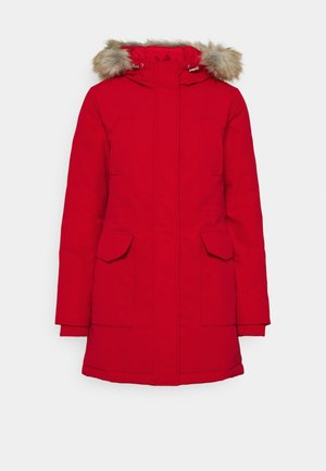 TECHNICAL  - Down coat - deep crimson