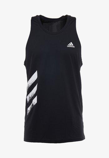 SINGLET - Sports shirt - black