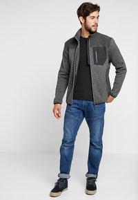 CMP - MAN JACKET - Fleece jacket - antracite - 1