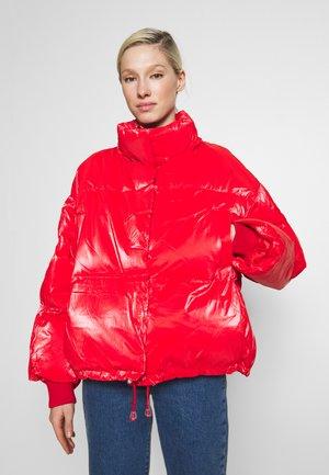 SHINY  - Zimní bunda - red