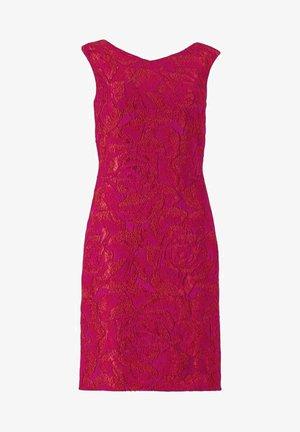 Cocktail dress / Party dress - lipstick pink