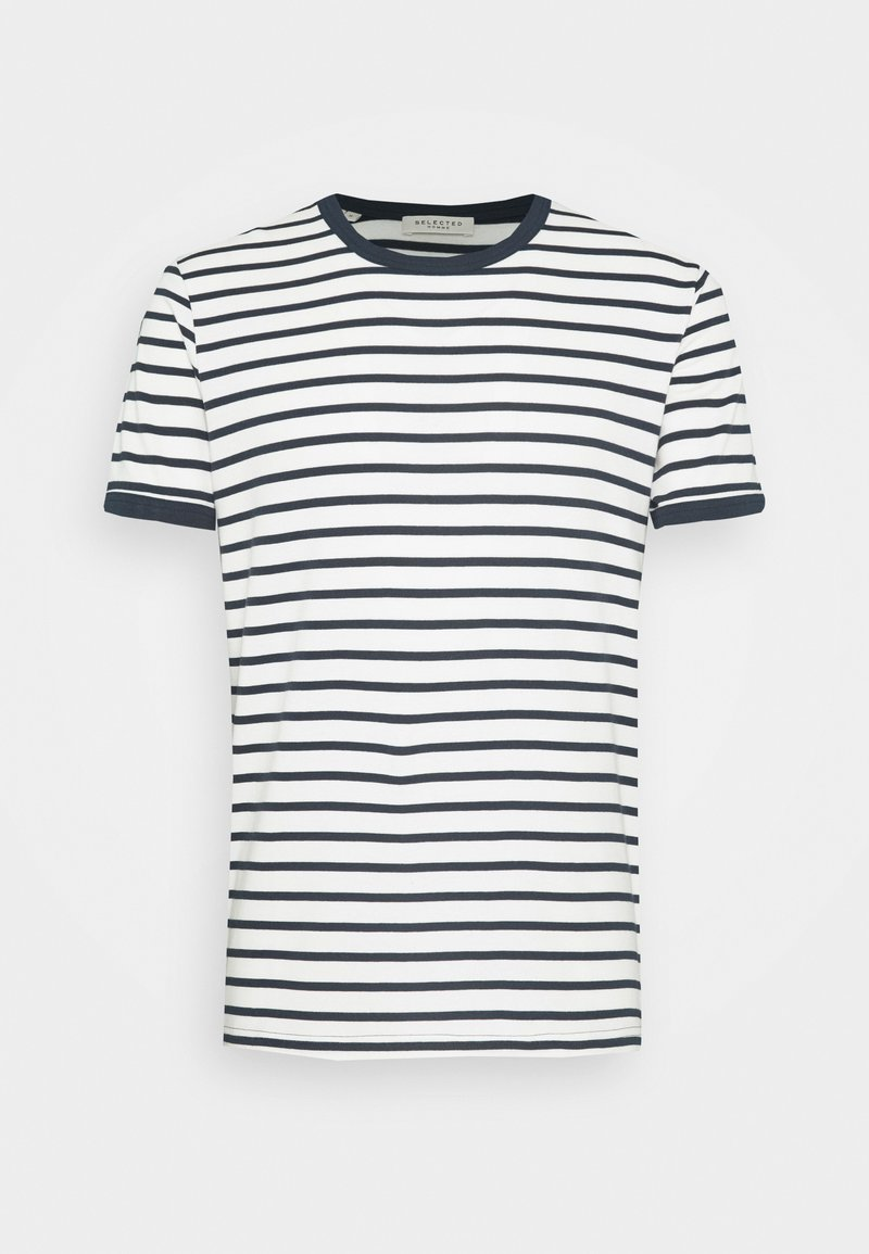 Selected Homme - SLHMELROSE  - T-shirt con stampa - sky captain