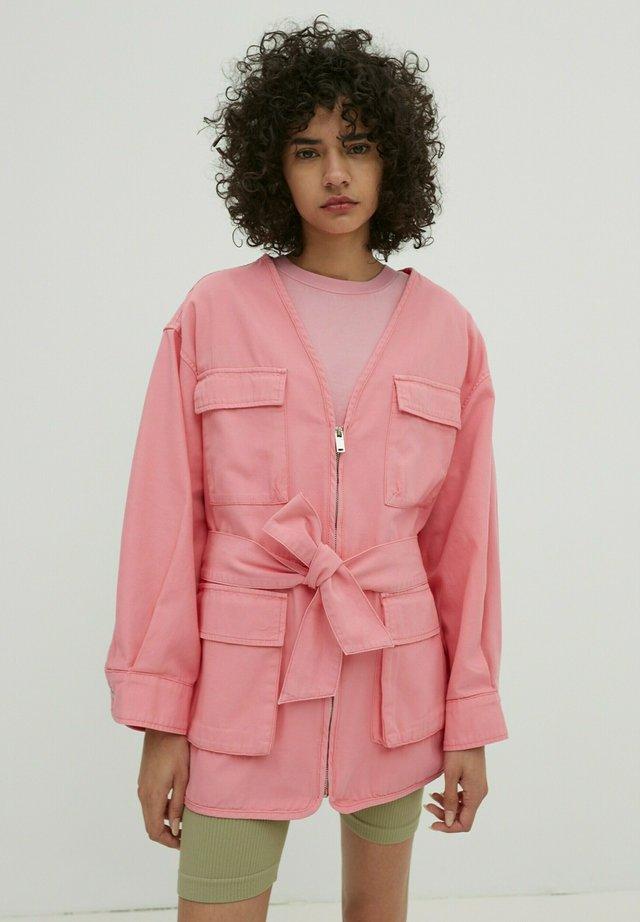 Parka - pink