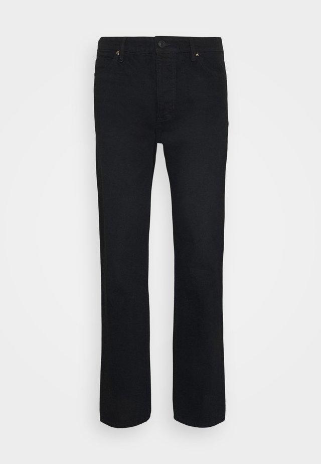 RAY STRAIGHT - Straight leg jeans - reverent black