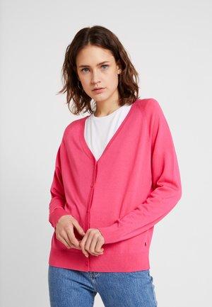 EASY CARDIGAN - Gilet - intense pink