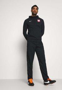 Nike Performance - POLEN HOOD - Club wear - black/white - 1