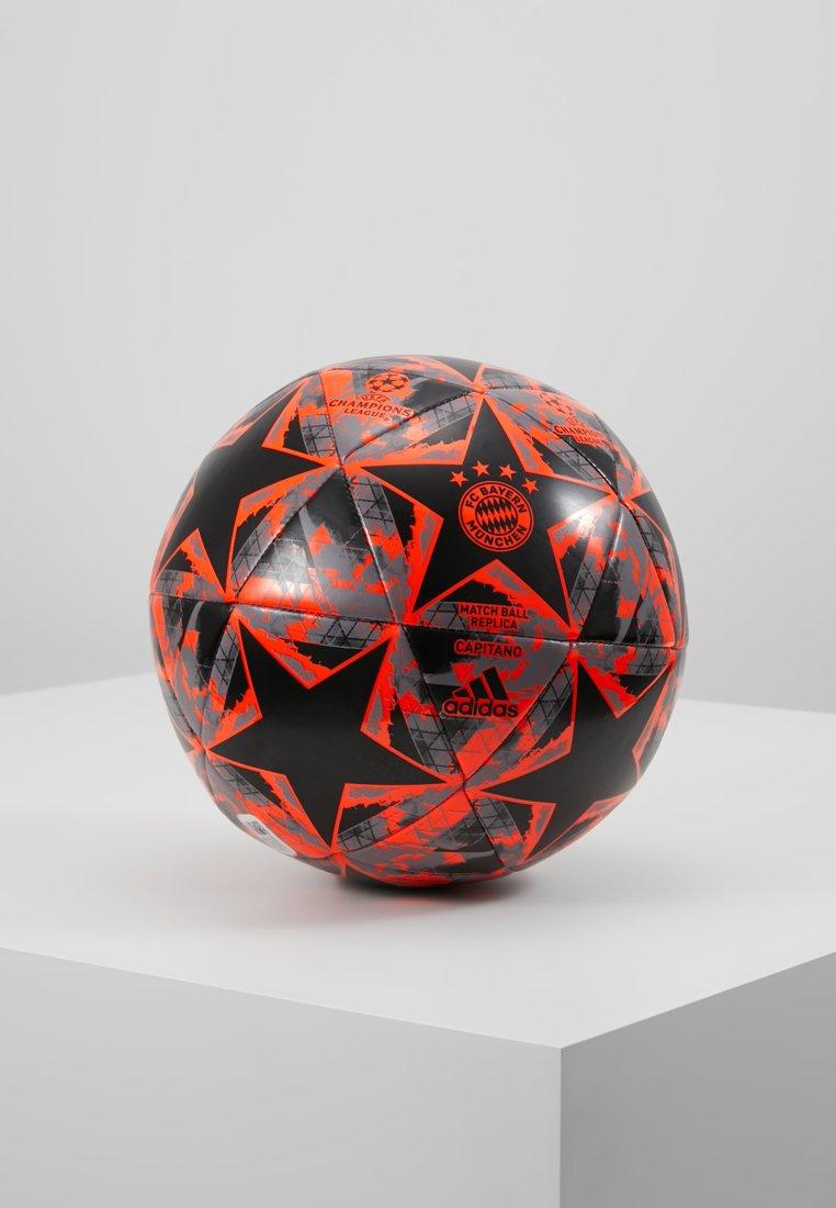 adidas Performance - FINALE - Fodbolde - black/solar red/grey heather