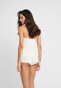 AMOSTYLE - COLLABORATION POLY - Spodnie od piżamy - pink light combination - 2