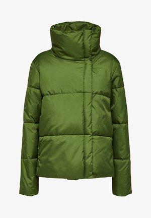 Winter jacket - twist of lime