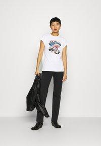 Replay - Print T-shirt - white - 1