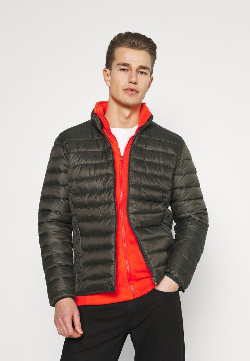 Schott - WILSON 2IN1 - Lehká bunda - khaki/orange