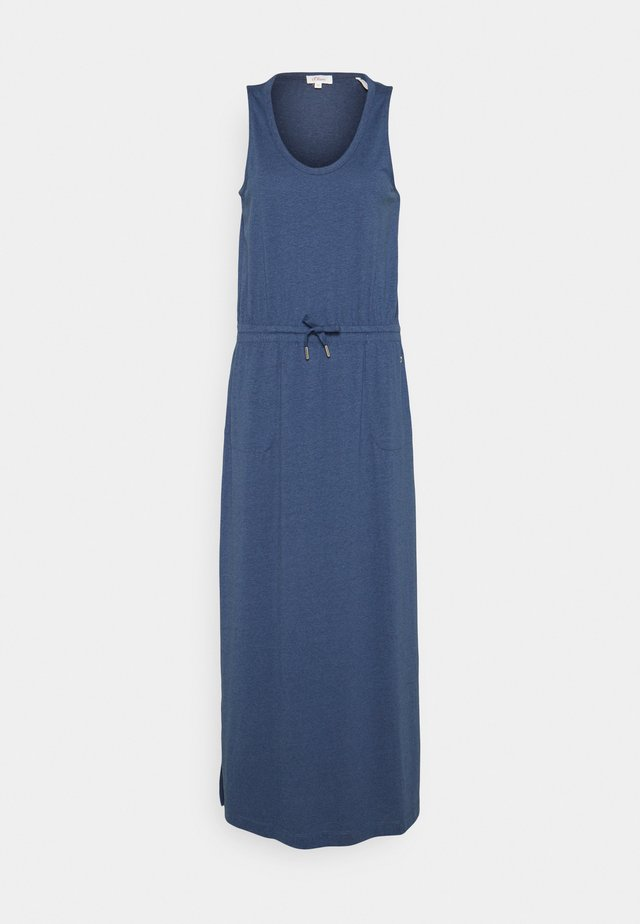 Długa sukienka - faded blue