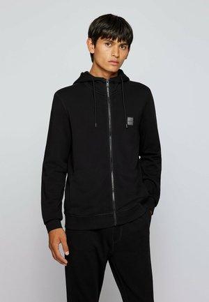ZETALK - Sweater met rits - black