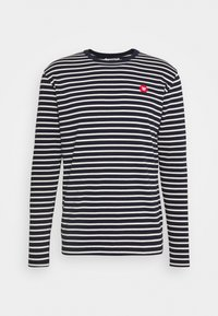 MEL LONG SLEEVE - Long sleeved top - navy/off-white