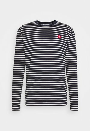 MEL LONG SLEEVE - Long sleeved top - navy/off-white