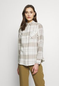 Dorothy Perkins - CLOSED COLLAR - Skjorta - ivory - 0